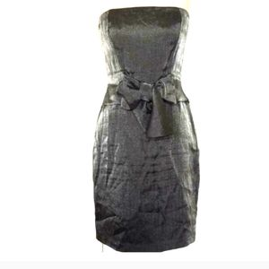The Limited pewter bow Dress 8